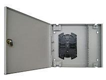 Бокс оптический настенный на 16 SC со сплайс пластиной.
